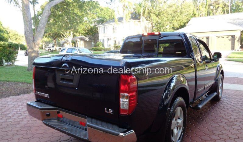 2007 Nissan Frontier LE full